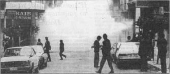 1985-11-17+18 - Χημείο Δεύτερη κατάληψη για φόνο Καλτεζά + Επέμβαση ΜΑΤ-54 - dakrigono
