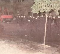 1985-11-17+18 - Χημείο Δεύτερη κατάληψη για φόνο Καλτεζά + Επέμβαση ΜΑΤ-55 - cops