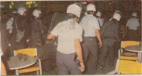 1987-05-ΜΑΪ - Εξάρχεια - ΜΑΤ Κυνηγητό - kinigito
