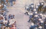 1990-12-14 – Οδομαχίες με ΜΑΤ-10 – Αντιπαράθεση ΜΑΤ + διαδηλωτών από ψηλά –antiparathesi