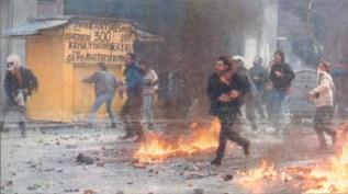 1991-01-ΙΑΝ - Αγριες οδομαχίες-43 - 85