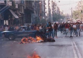 1991-10-18 - Βουλή Πυρπολήσεις-17 - odofragma2