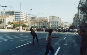 1991-10-18 - Βουλή Πυρπολήσεις-21 - petropolemos1