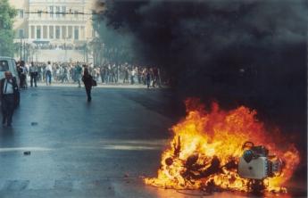 1991-10-18 - Βουλή Πυρπολήσεις-30 - troxaia5