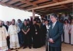 Περιοχή Sokolac Βοσνίας, 28 Ιουνίου 1995, η μεγάλη εθνική και θρησκευτική γιορτή των Σέρβων Vidovdan. Ο Ράντοβαν Κάρατζιτς, ο Ράτκο Μλάντιτς, ο παιδόφιλος Μητροπολίτης ΕΕΦ και Zvornik και Tuzla Vasilije Kacavenda, πλήθος Επισκόπων και ιερέων, και ολόκληρη η πολιτική και στρατιωτική ηγεσία των Σέρβων της Βοσνίας εορτάζουν την επέτειο της μάχης του Κοσόβου και εύχονται «όλοι οι Σέρβοι να ζήσουν σε ένα και μόνο κράτος»
