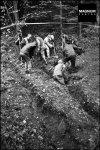 2000-09-25 – Βλασένιτσα Vlasenica – Μαζικοί τάφοι Mass graves – European Union monitors and Bosnian investigators searching for remains of Bosnian Muslims killed during ethnic cleansing by Serbs – by Patrick Zachmann-Magnum –PAR2