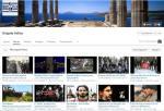 Η σελίδα με τα βίντεο στο YouTube του 'Brigade Hellas'. Φουντούλης, Καπελώνης, Ιμια, Χρυσή Αυγή, και ασφαλώς 'Noz, zica, Srebrenica' ('Μαχαίρι, Σύρμα, Σρεμπρένιτσα')