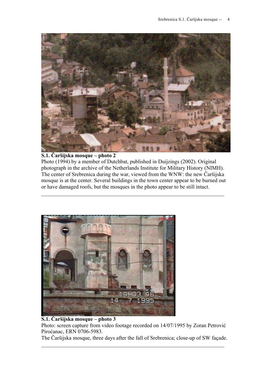 Andras Riedlmayer - Report S1 on Carsijska Mosque in Srebrenica [October 2012] - Mladic-Srebrenica-S1 Carsijska-04