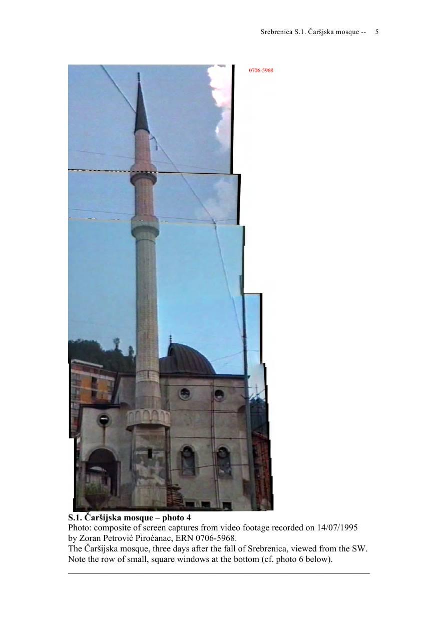Andras Riedlmayer - Report S1 on Carsijska Mosque in Srebrenica [October 2012] - Mladic-Srebrenica-S1 Carsijska-05