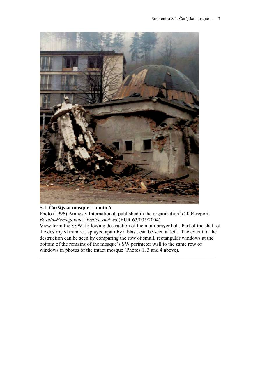 Andras Riedlmayer - Report S1 on Carsijska Mosque in Srebrenica [October 2012] - Mladic-Srebrenica-S1 Carsijska-07