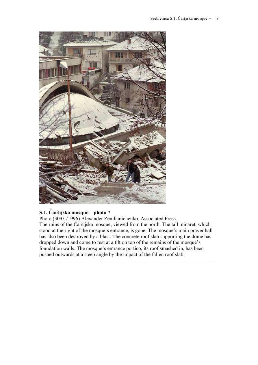 Andras Riedlmayer - Report S1 on Carsijska Mosque in Srebrenica [October 2012] - Mladic-Srebrenica-S1 Carsijska-08