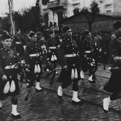 Πιθανόν στην οδό Βασιλίσσης Ολγας, 15 Νοεμβρίου 1944. Η μεγάλη στρατιωτική παρέλαση από τα βρετανικά στρατεύματα. Φωτογραφία Νο #47.