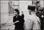 Henryk Ross – Police keep watch in the Lodz Ghetto [1942]