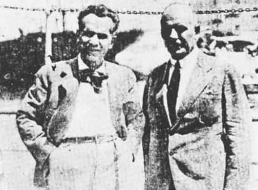 Κώστας Βάρναλης και Δημήτρης Γληνός, 1934